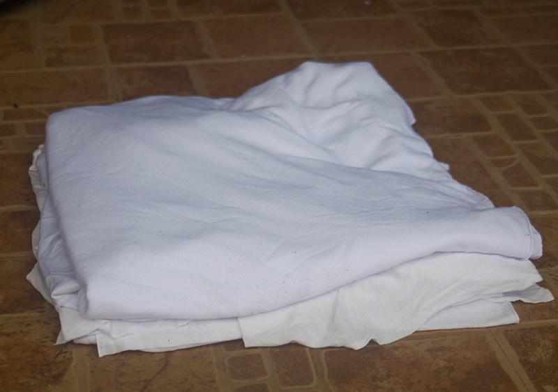 Vải lau trắng 1 lớp A4